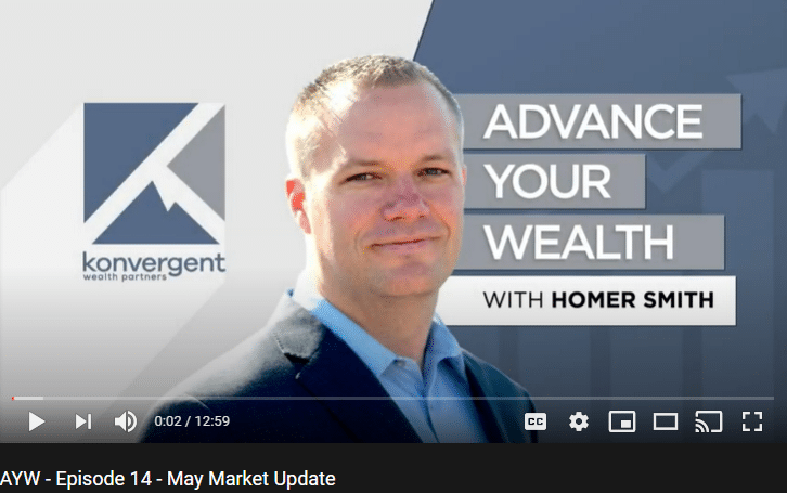 Advance Your Wealth – Episode 14 – May Market Update