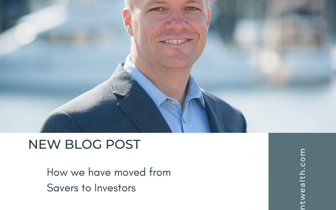 How we have moved from Savers to Investors